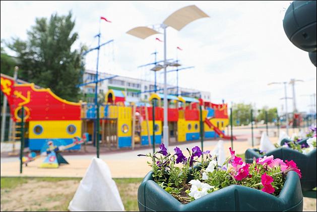 Три новых парка строят в Волгоградской области