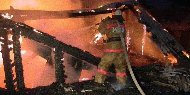 За сутки в Волгоградской области в огне погибли 6 человек