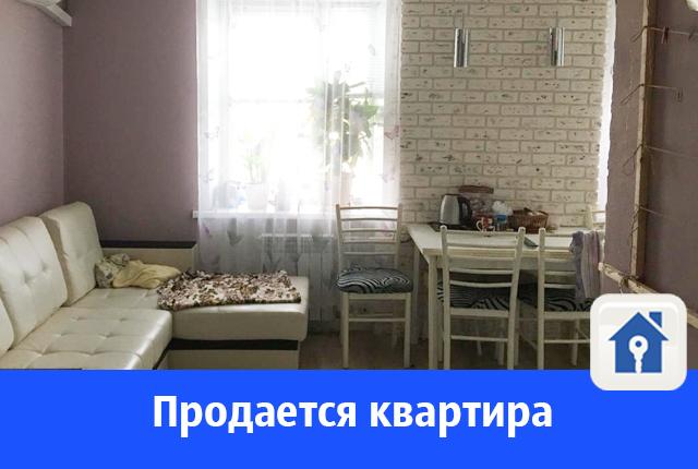 Продается красивая квартира с оригинальным ремонтом