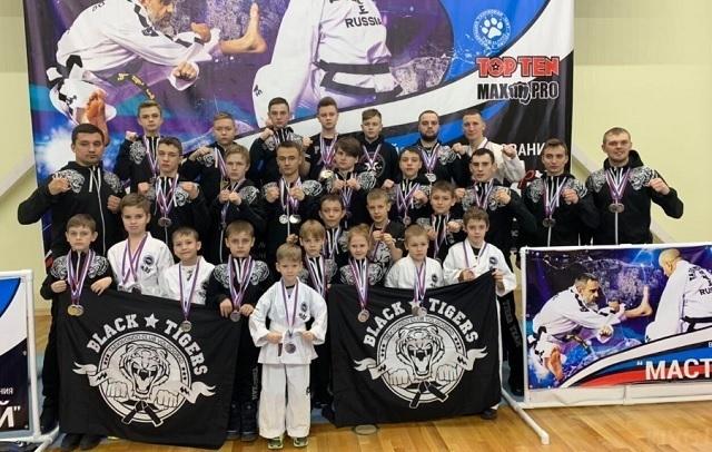Волгоградские «Черные тигры» показали достойный результат