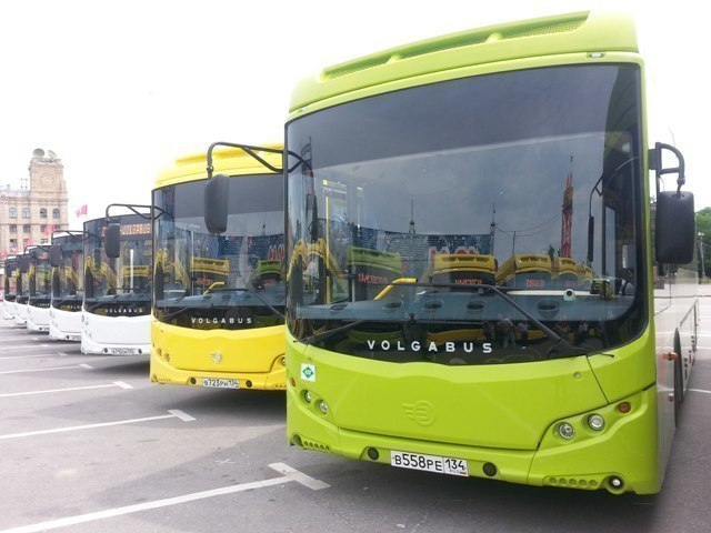 Новый автобусный маршрут №5 свяжет Родниковую долину и Речпорт в Волгограде