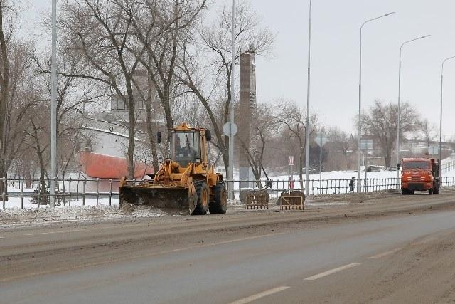Мэрия опубликовала реальное доказательство работы снегоуборочной техники в Волгограде