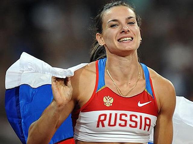 Елена Исинбаева - в пятерке самых упоминаемых в СМИ олимпийцев