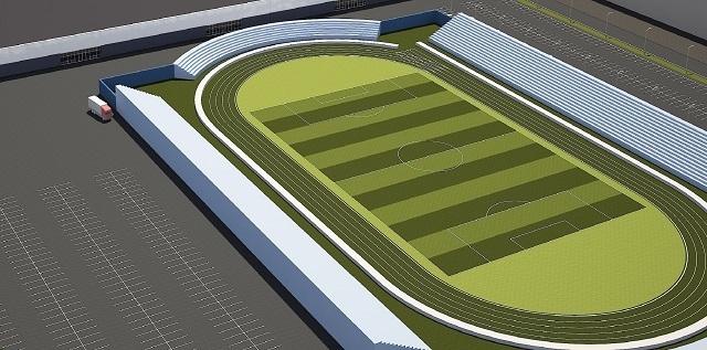 Волгоградский стадион «Трактор» разделят на зоны и выстроят несколько новых залов