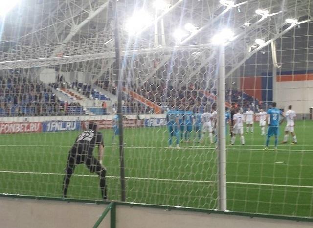 «Сибирь» обыграла «Ротор-Волгоград»