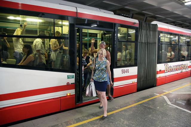 Трамвайные маршруты №3 и 4 восстановлены после сильного ливня в Волгограде