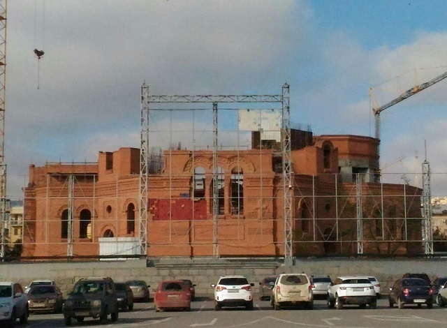 Алтарь строящегося храма Александра Невского не будет похож ни на какой другой