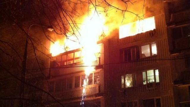 В Волгограде на пожаре в квартире пострадала 53-летняя женщина