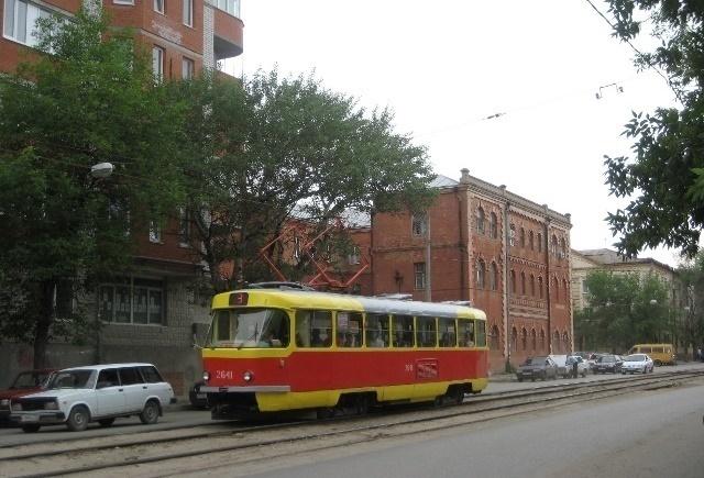 В 2017г вВолгограде починят 3 километра трамвайных путей