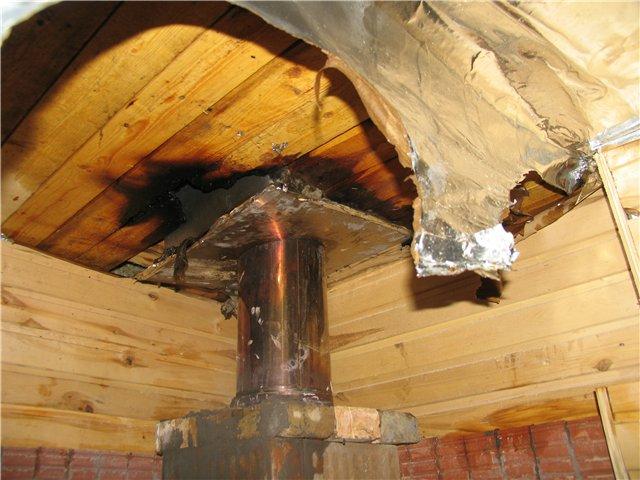 Под Волгоградом из-за нарушения правил безопасности сгорела баня