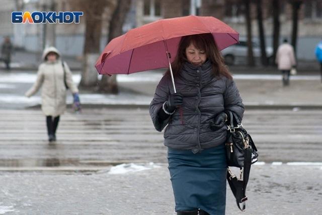 41 февраля в Волгограде: город с утра усыпало снегом