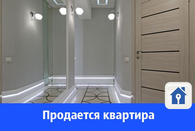 Продается дизайнерская квартира с панорамным остеклением на Волгу