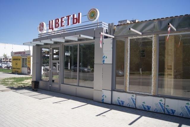 Вцентре Волгограда заливают фундамент для торговых галерей
