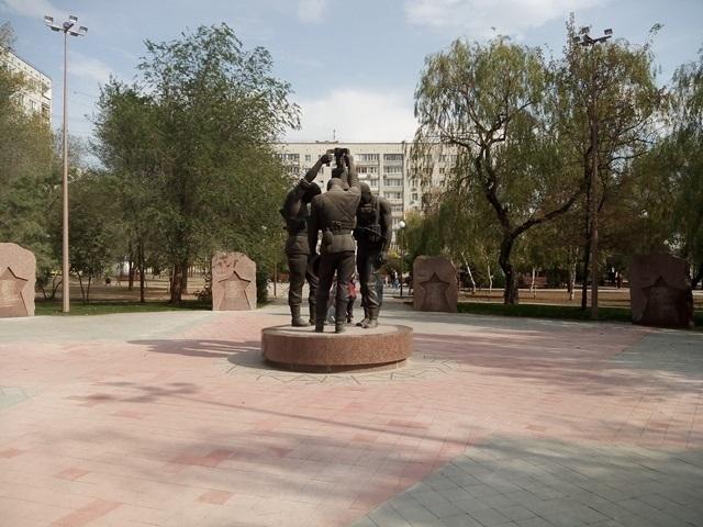 ВВолгограде заканчивается реконструкция парка Памяти