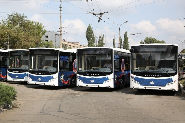 Автобусы-шаттлы пустят в день первого тестового матча «Волгоград Арены»