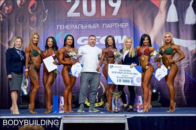 Волгоградка Елена Маноли вошла в ТОП-6 лучших на соревнованиях Wellness bikini