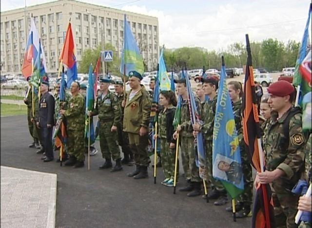 В Волгоград в канун Дня Победы пешком пришли тамбовские десантники