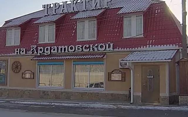 В Волгограде из-за пожара в кафе перекрыли дорогу