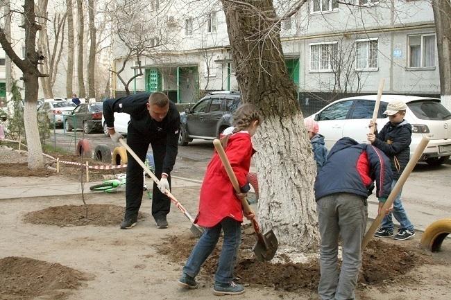 Депутат Волгоградской гордумы взял в руки грабли
