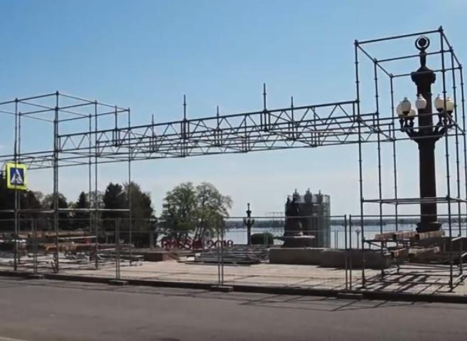 На видео попало долгожданное преображение центральной набережной Волгограда