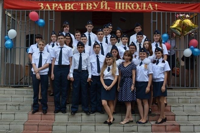 74 школьника Волгограда 1 сентября почувствовали себя курсантами УФСИН