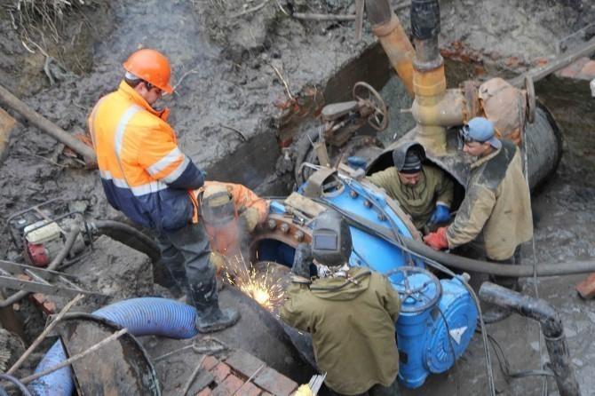 Волгоградский городской водоканал провел более 270 ремонтных работ