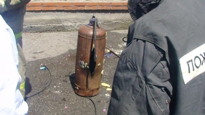 Под Волгоградом 29-летний мужчина получил ожоги лица при взрыве газового баллона