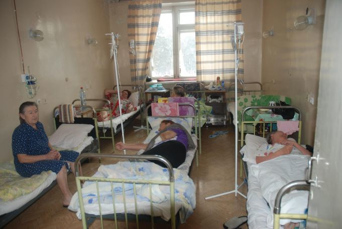 В Волгоградской области больницы переполнены пациентами с гриппом