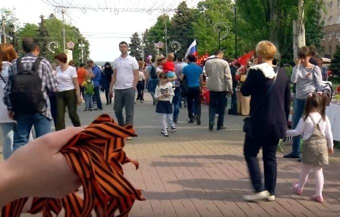 Где будут раздавать георгиевские ленточки в Волгограде