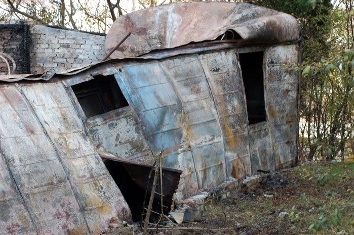 ВВолгоградской области ввагончике живьем сгорел мужчина