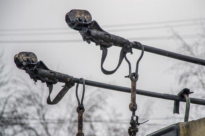 Из-за аварии встали троллейбусы на западе Волгограда