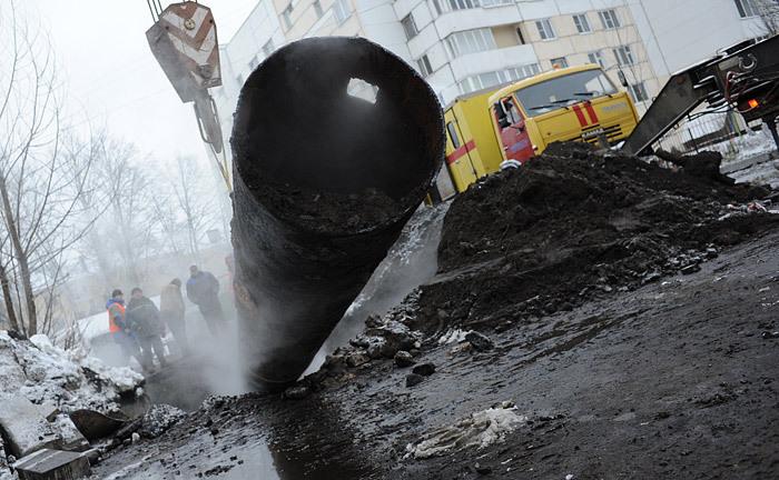 В Волгограде произошел порыв на магистральном водоводе