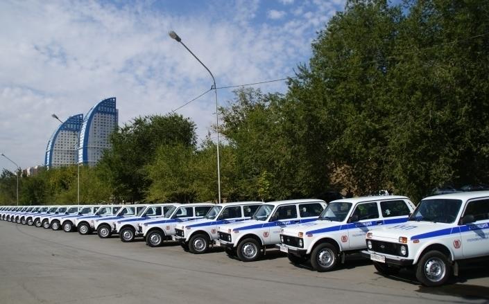 Районным участковым в Волгоградской области вручили 50 новых авто