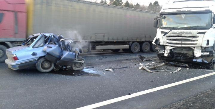 Трое человек пострадали втройном ДТП сгрузовиками насевере Волгограда