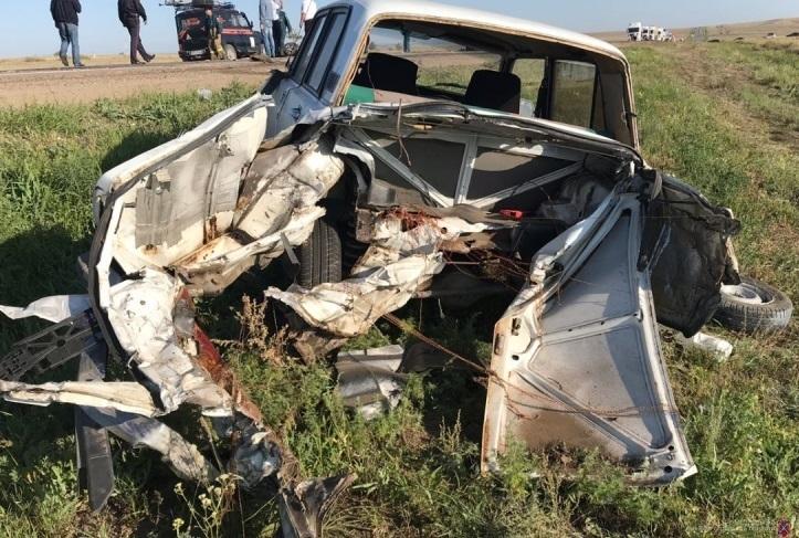 Утром под Камышином случилось массовое ДТП: двое погибших, четверо раненых