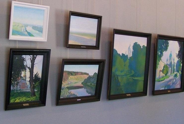 Пейзажи волгоградского художника выставили в галерее в США