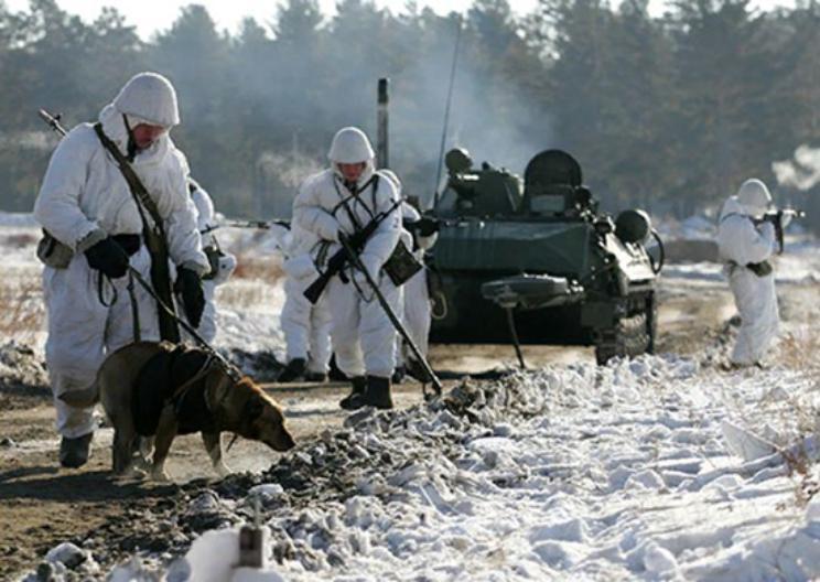 На юге России  войска подняли по тревоге