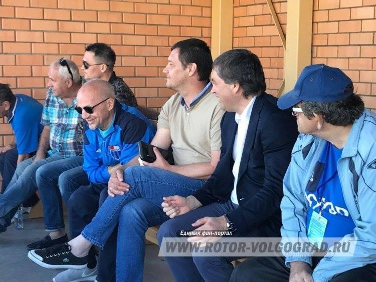 На игре команды «Ротор-Волгоград-2» был замечен Роберт Евдокимов