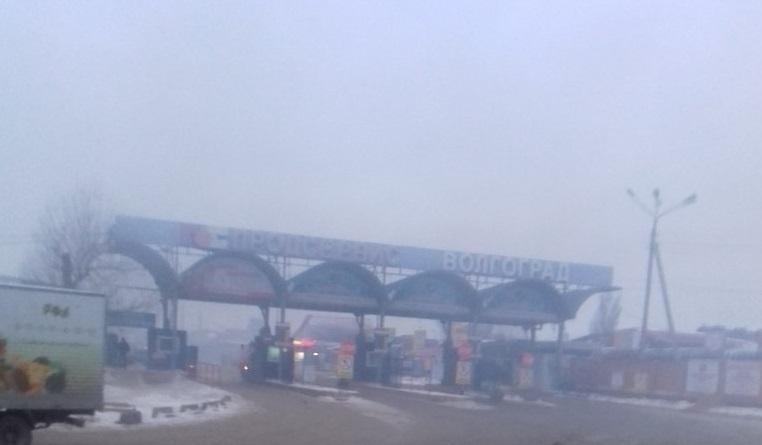 ВВолгограде устранили пожар наскладе оптового рынка