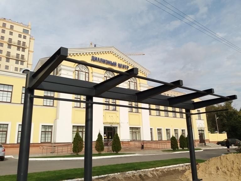 86 новых остановок начали устанавливать в Волгограде