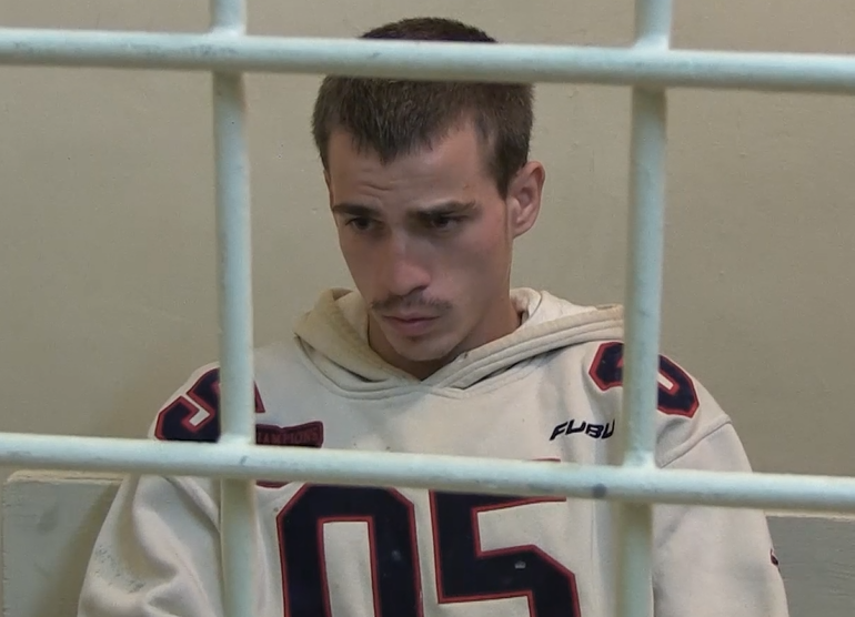 Опубликовано видео допроса студента, убившего мать на глазах двоих детей под Волгоградом