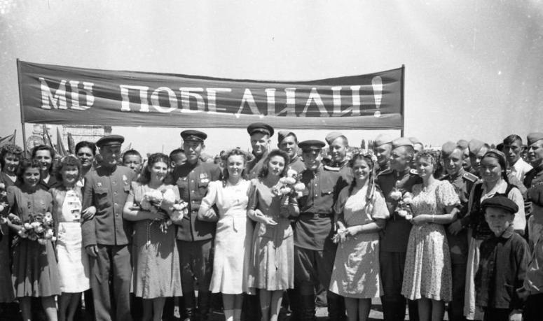 Как отмечали День Победы в Волгограде во времена СССР