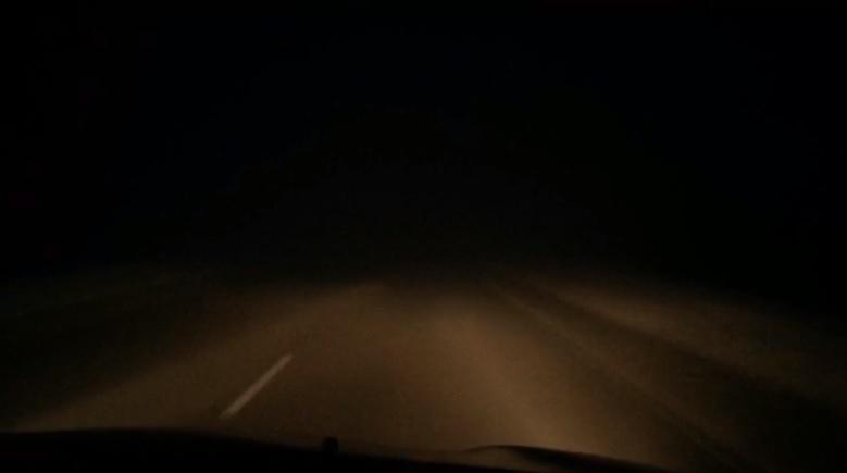 Очевидцы сообщают об авариях на трассе Волгоград-Самара из-за сильного гололеда