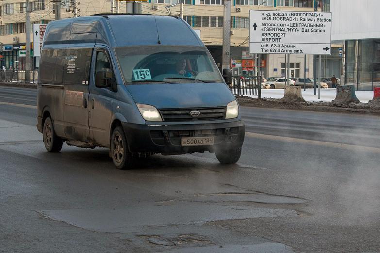 Волгоградцы не хотят наказания для перекрывших дороги водителей маршруток