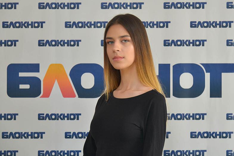Студентка ВгГИ Александра Шпак в конкурсе «Мисс Блокнот-2019»