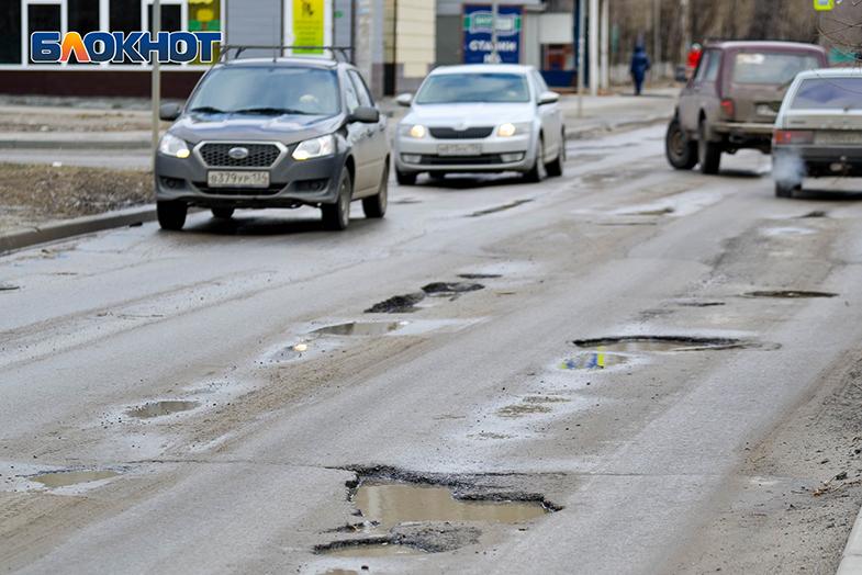 82 миллиона рублей потратят на ремонт двух дорог до конца лета  в Красноармейском районе Волгограда