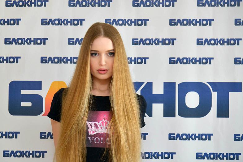 Титулованная Ангелина Самохина в конкурсе «Мисс Блокнот-2019»