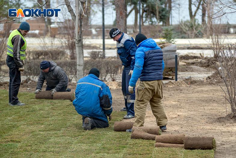 До конца года планируют привести в порядок сквер у ДК «Судоверфь» в Волгограде