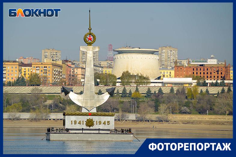 Вернувшийся на Волгу плавучий якорь запечатлел волгоградский фотограф