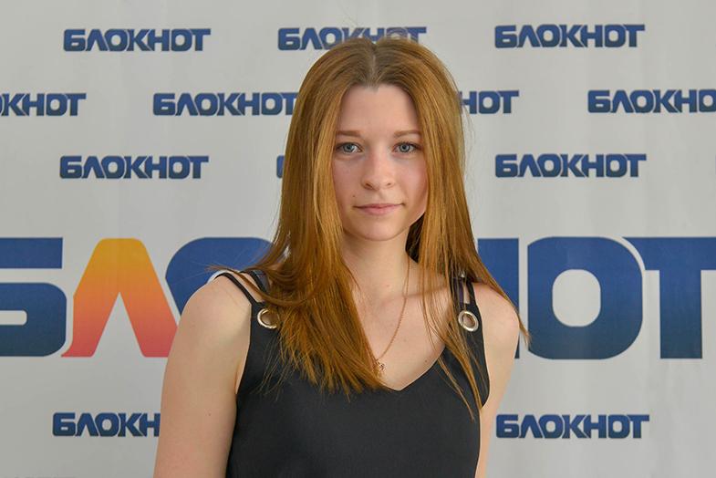 Первая участница «Мисс Блокнот-2019» Виктория Полякова